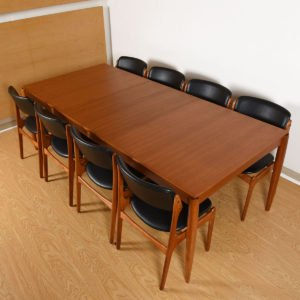 HW Klein Danish Teak Dining Table