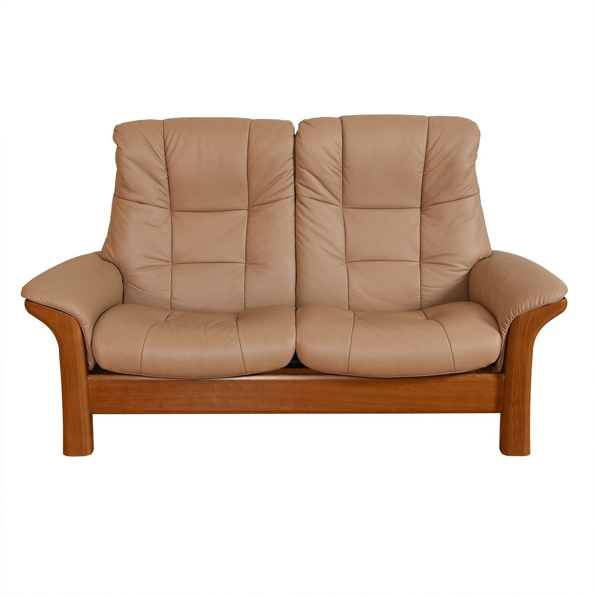 Individually Reclining 2-Seat Leather Sofa / Loveseat by Ekornes