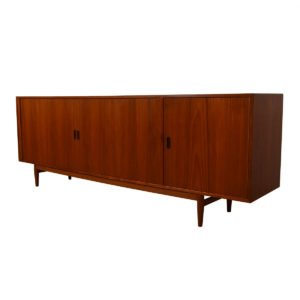 Arne Vodder Danish Teak Tambour Door Sideboard / Room Divider