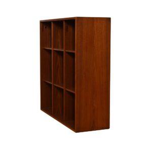 Petite Danish Modern Teak Bookcase