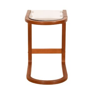 "Danish Modern Teak U-Shaped ""Loop"" Accent Table"