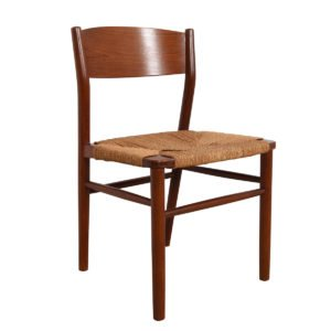 Set of 10 (2 Arm + 8 Side) Peter Hvidt Danish Teak Dining Chairs.