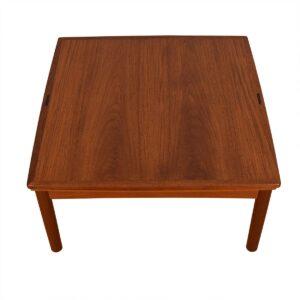 Danish Modern Teak Expanding Flip-Top Coffee Table