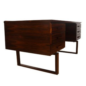 Kai Kristiansen Danish Rosewood Executive Floating Desk