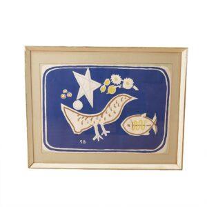 Oiseau et poisson Artwork