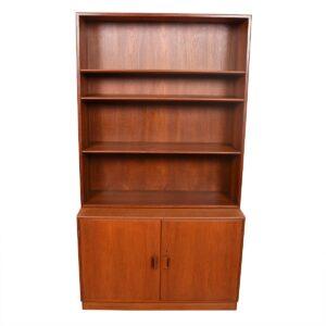 Borge Mogensen Danish Teak Storage / Bookcase Cabinet — Pair Available