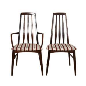 Set of 8 Koefoeds Hornslet Danish Rosewood Dining Chairs.