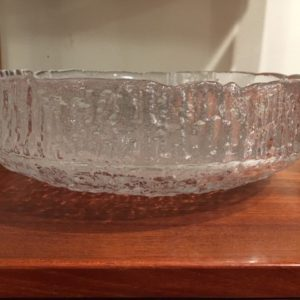 Kosta Boda Swedish Glass Bowl