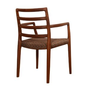Pair of Danish Teak Niels Møller No. 68 Arm Chairs