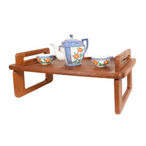 Danish Teak 'Breakfast in Bed' Multifunctional Tray by Dansk.