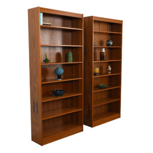 84″ Tall Danish Modern Teak Bookcase(s)