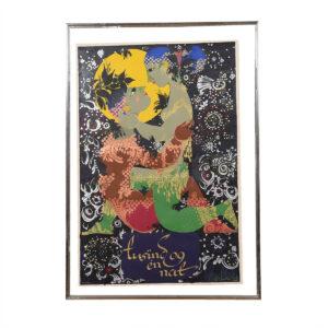 Bjørn Wiinblad Arabian Nights Poster