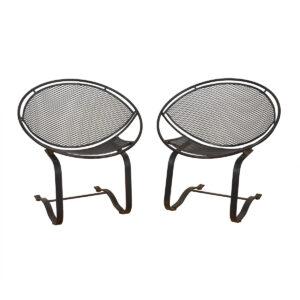 Pair of Salterini Radar Lounge / Bounce Chairs